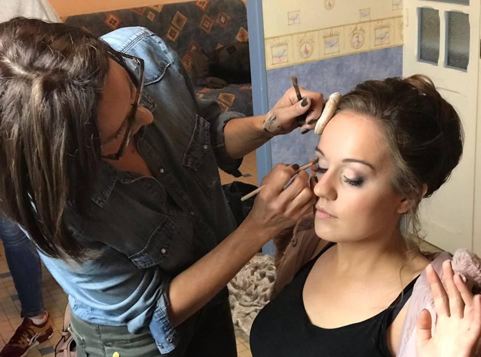 Maquillage mariée Nantes