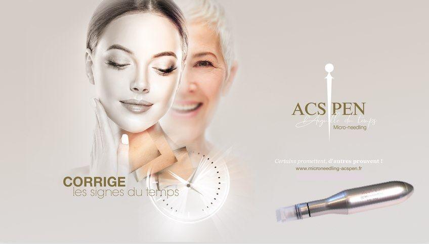 ACS Pen MICRONEEDLINGEsthéticienne et maquilleuse professionnelle beauté domicile Stimulation Cellulaire Avancée. 44100 nantes